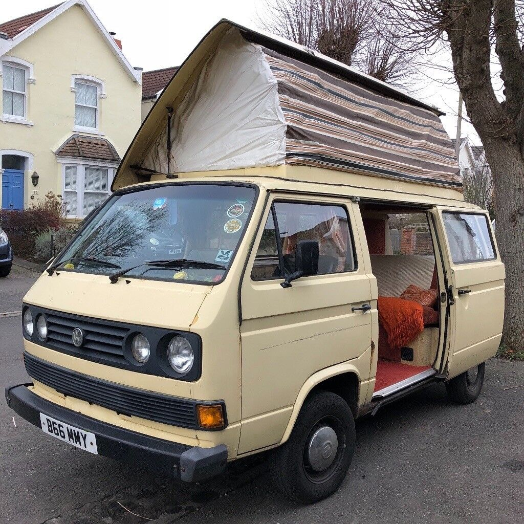 T25 VW A Campervan For Sale 1985 Devon Conversion Petrol Van