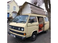 T25 VW a Campervan for a Sale. 1985 Devon Conversion, Petrol Van.