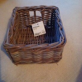 Small wicker basket - IKEA Byholma
