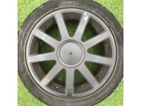 full set 4x 17 inch Alloy Wheels - VW Volkswagen Transporter T4