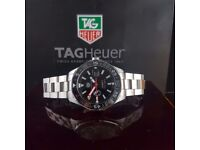 Tag Heuer Aqua Racer Match Timer Comes Tag Bagged and Boxed with Paperwork