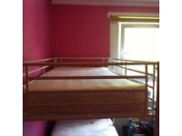 Single bunk beds with one mattress excellent condition