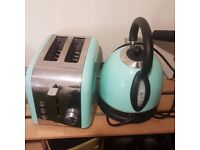 Silvercrest Kettle and Toaster Matching Pair Set London Collection