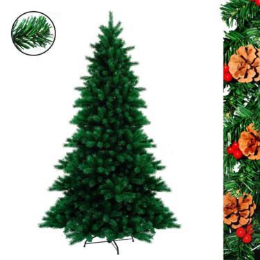 Weihnachtsbaum Tannenbaum.Weihnachtsbaum Tannenbaum Christbaum Künstlich 180 Cm Grün
