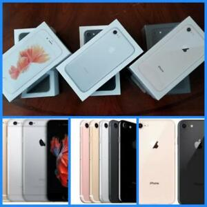 iPhone 6S 32GB($425)/7 32GB($499)/8 64GB($699), Brand New, Unlocked, 1 Year Apple Warranty! Rogers/Telus/Bell/Freedom***