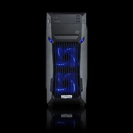 """PRICE REDUCTION - High Performance """"Gaming"""" PC, Full Setup with Dual Monitors and Speakers"""
