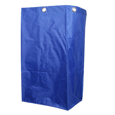 Cleaning Storage Bag For Commercial Housekeeping Cart Janitorial Cart Blue