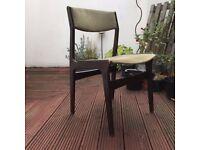 Danish Vintage Dinning Lounge Chair / Modern Retro Design Midcentury 50s 60s Scandinavian