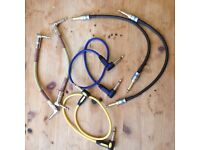 Assortment of Guitar Patch cables