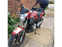 Lexmoto ZSX 125 cc motorbike for parts, not working