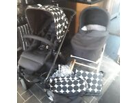 Mamas & Papas Sola pram & pushchair with accessories