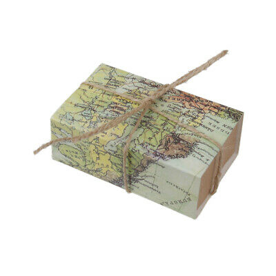 50pcs Pack World Map Drawers Wedding Favors Candy Gift Boxes Gift Box