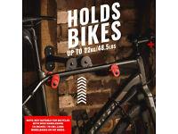 Bike Wall Mount - Horizontal Indoor Storage Rack, for 1 Bicycle in Garage/Home
