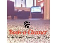 Carpet Cleaning starting from £20! Book-a-Cleaner London
