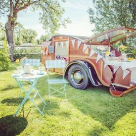 Tilly the Teardrop Trailer. A quirky little caravan for two people.