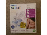 Philips Philips Avent Manual Breast Pump with Milk Storage Cups