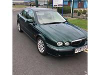 jaguar x type 2.5 v6 auto 2004 53 plate leather seats
