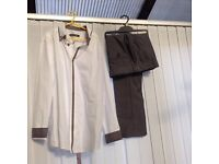 Boys shirt trousers and shoes