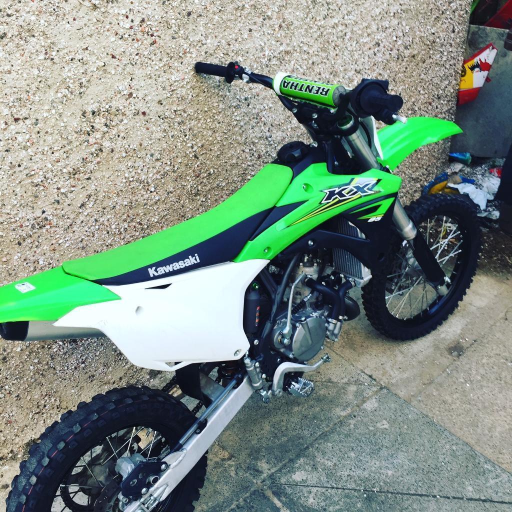 Kawasaki Kx  Big Wheel For Sale