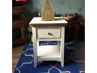 SALE Shabby Chic Side Table