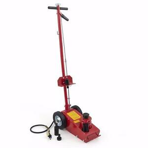 NEW 22 TON AIR HYDRAULIC FLOOR JACK HEAVY DUTY TRUCK LIFT JACKS SERVICE REPAIR LIFTING TOOL