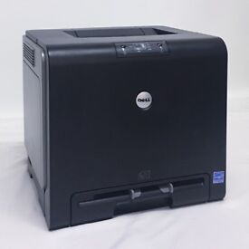 DELL 1320CN Colour Laser Printer Network Wireless 1320 1320c n Faulty Spares Repairs