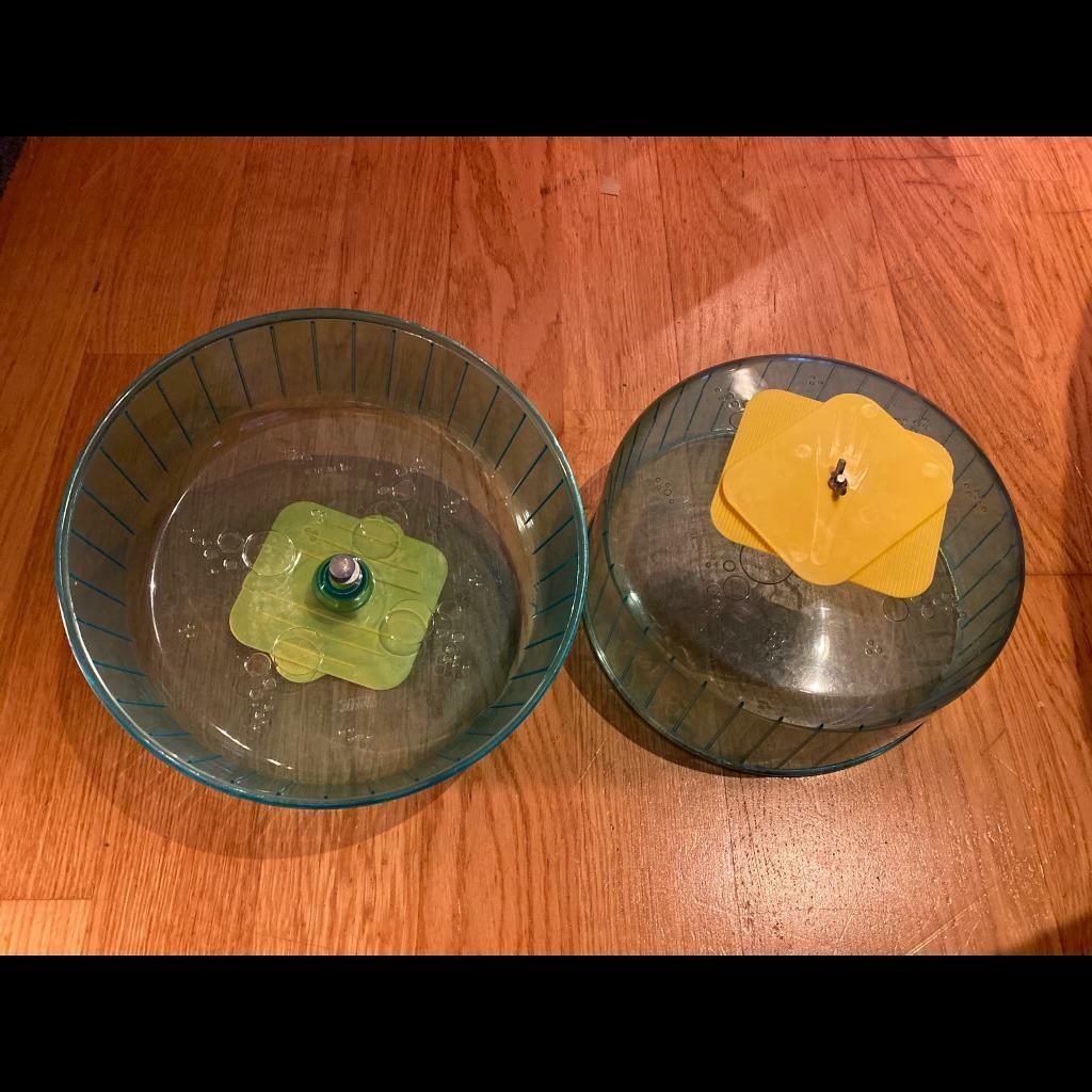 2 X Savic Large rodent wheels