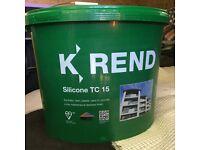 K Rend TC 15 Siliconr Render limestone white