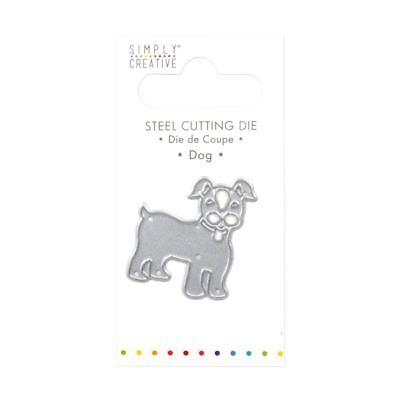 Trimcraft Simply Creative Mini Metal Paper Card Craft Die Set - Dog