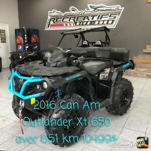 2016 Can-Am Outlander 650 XT DPS