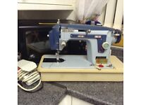 Janome New Home Sewing Machine with Attachments