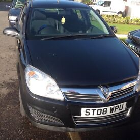 2008 ASTRA LIFE A/C PETROL 1.6 MANUAL FULL SERVICE MOT LOW MILAGE EXCELLENT FAMILY CAR