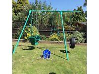 Garden Swing by TP