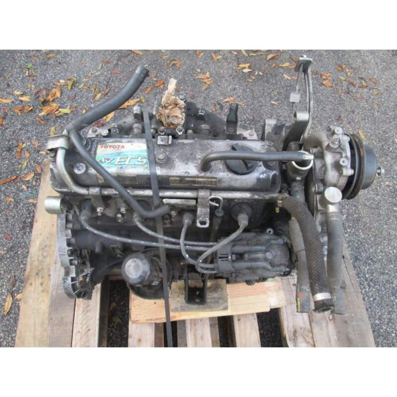 Used Toyota 4Y-ECS LPG Forklift Engine No Core