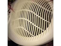 Floor fan heater