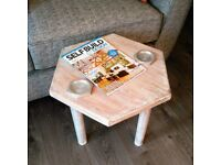 Shabby Chic Hexagon Coffee Table - Brand New In Box