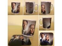 The X Files Mug & Matching Coaster Set
