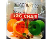 Siliconezone Egg Chairs for Kids - excellent state!