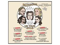 4x Blossoms standing tickets, Victoria Warehouse Manchester, Saturday 8th December 2018