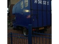 Horse Box On Transit! Ford Transit Smiley Front Horse Box! Must See Cheap!
