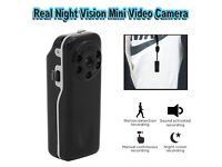 HD 720P Night Vision Mini Spy Video Camera Voice and Motion Activated DV Camera