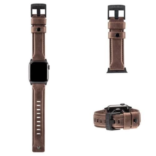 UAG Apple Watch Leather BROWN  Wrist Band 44mm  Series  4 / 5