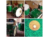 Vintage 1970's Hayman Vibrasonic Drum Kit For Sale