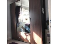 Wardrobe and large chest of drawers