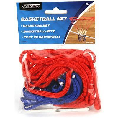 Alert Basketballnetz Netz für Basketballkorb Ersatznetz ca. 45 cm 12 Schlaufen