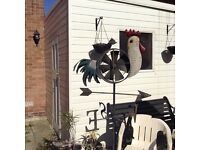 Garden ornament. Cockerill weather vane