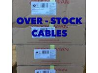 BRAND NEW TWIN & EARTH CABLES