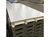 Light Grey & Slate Grey Insulated Roofing & Cladding Sheets ideal for Garages
