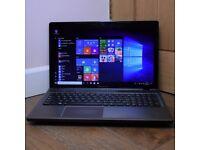 "Lenovo IdeaPad Z580 15.6"" Multimedia Students Laptop Core i3 500GB 4GB HDMI USB 3.0 Windows 10"