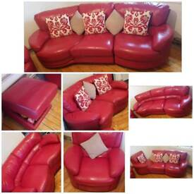 RED LEATHERSUITE